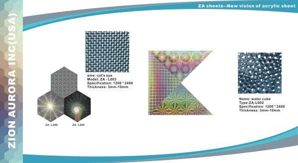 ZA Acrylic Sheet – Zion Aurora
